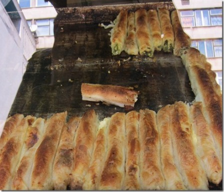 Burek, a local food